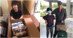 Bé trai gốc Việt tặng 12,000 khẩu trang cho người vô gia cư trong đại dịch