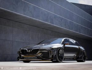 Bộ ảnh concept xe VinFast đẹp long lanh như siêu xe