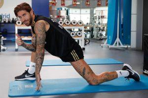 Ramos trở thành biểu tượng cơ bắp ở Real Madrid