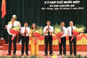 Bắc Giang có thêm hai phó chủ tịch tỉnh