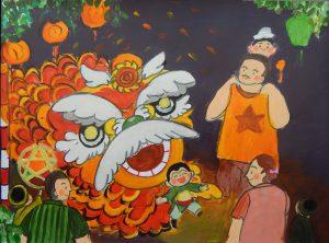 Triển lãm tranh thiếu nhi 'Trung thu của em'  tại Bảo tàng Mỹ thuật Đà Nẵng