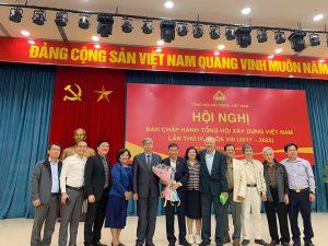 Ông Đặng Việt Dũng được bầu làm Chủ tịch Tổng hội Xây dựng Việt Nam