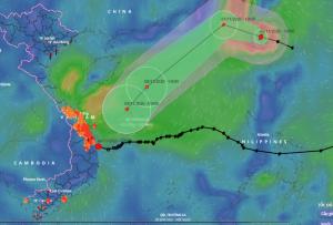 Ba cơn bão sắp ùn ùn kéo vào Biển Đông