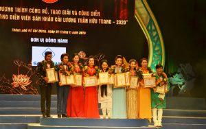 Trao giải cuộc thi 'Tài năng diễn viên sân khấu Cải lương Trần Hữu Trang – 2020'