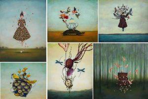 Họa sĩ Mỹ gốc Việt triển lãm tranh ảo mộng, siêu thực