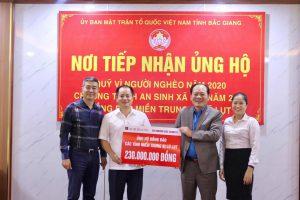 Agribank Chi nhánh Bắc Giang có nhiều đóng góp trong công tác an sinh xã hội