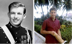 Thời trẻ của Tổng thống Mỹ Donald Trump cùng 'đối thủ' Joe Biden: Ngang sức ngang tài