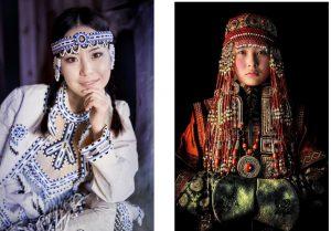 Vẻ đẹp phụ nữ bản địa Nga sống ở vùng lạnh giá nhất thế giới
