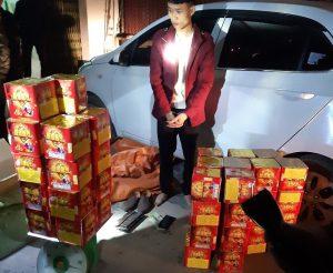 Công an Lạng Giang:Tăng cường xử lý vi phạm giao thông, trấn áp tội phạm phục vụ tết Tân Sửu 2021