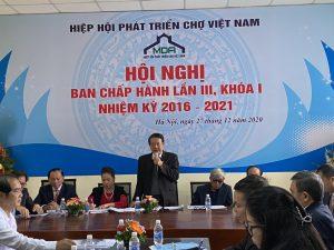 Hiệp hội Phát triển Chợ Việt Nam: Hội nghị Ban Chấp hành lần III, khoá I, nhiệm kỳ 2016 – 2021