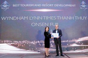 Phú Thọ: Dự án Wyndham Thanh Thủy nhận giải bất động sản quốc tế