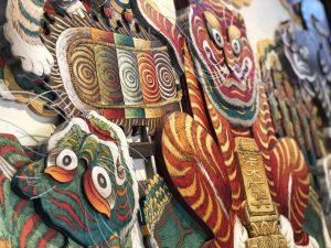 Ngũ hổ, tín ngưỡng thờ Mẫu trong tranh Hàng Trống