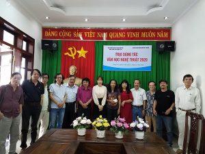 Khai mạc trại sáng tác VHNT Đà Nẵng tại TP Vũng Tàu