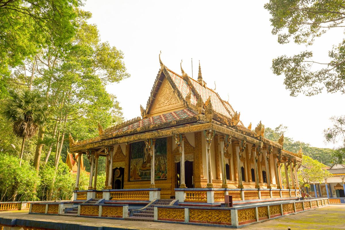 4 ngôi chùa Khmer hút khách
