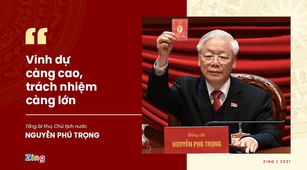 Phát ngôn ấn tượng của Tổng bí thư sau khi tái đắc cử