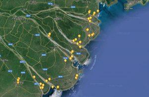Sông Cửu Long hiện nay còn bao nhiêu cửa?