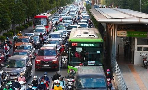 Nguy cơ 'vỡ trận' dự án buýt nhanh BRT hàng nghìn tỷ đồng