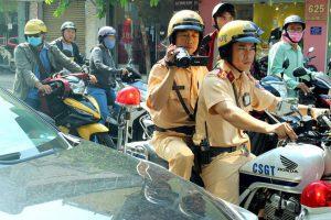 CSGT TP.HCM ghi nhận 35.633 hình ảnh vi phạm giao thông