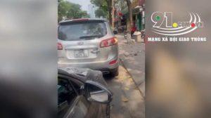 Video: Say rượu, người đàn ông thách thức nữ tài xế gọi công an