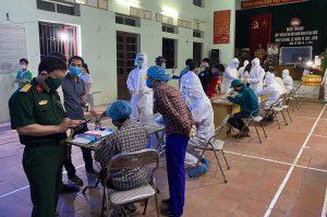 Bắc Ninh: Xét nghiệm Covid lần 2 cho toàn bộ người dân xã Mão Điền