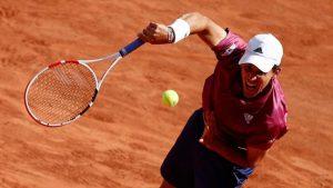 Cú sốc đầu tiên ở Roland Garros 2021: Dominic Thiem bị loại ngay vòng đầu