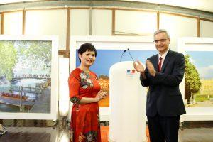 Cộng hòa Pháp trao Huân chương Hiệp sĩ Văn học và Nghệ thuật cho TS Lê Thanh Huyền