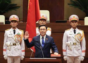 Tóm tắt quá trình công tác của Chủ tịch Quốc hội Vương Đình Huệ