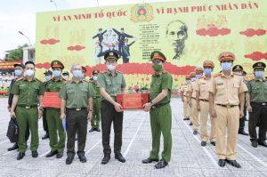 Đại tướng Tô Lâm: Tiếp tục xây dựng lực lượng CSND tinh nhuệ, từng bước hiện đại