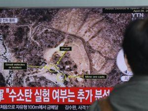 Bãi thử hạt nhân Triều Tiên sập tan tành
