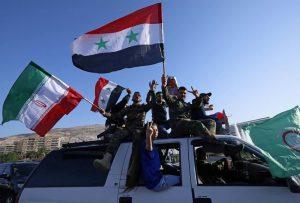 Người dân Syria xuống đường phản đối Mỹ