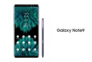 Hé lộ những hình ảnh đầu tiên của Samsung Galaxy Note 9