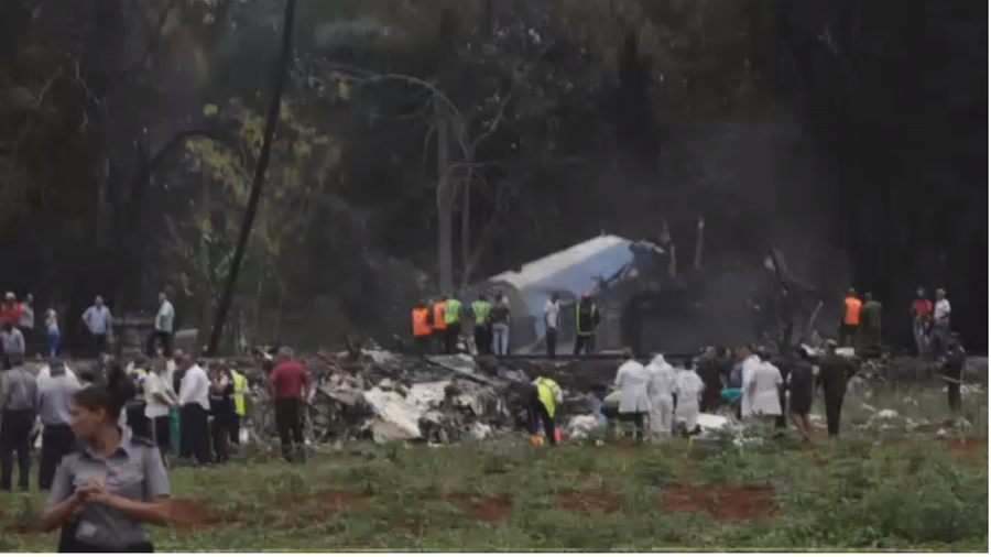 Máy bay Boeing 737 chở hơn 100 người rơi ở Cuba, thương vong cực lớn