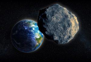 Thiên thạch kích cỡ khổng lồ bay sượt qua Trái Đất