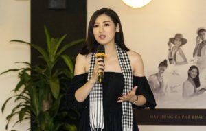 Á hậu Tú Anh tham gia ủng hộ 10.000 cuốn sách cho thanh niên Việt