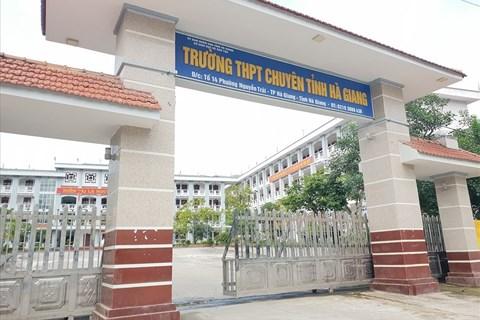 Người sửa điểm thi ở Hà Giang sẽ phải đối diện với hình thức xử phạt nào?
