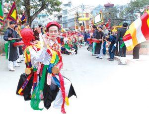 Hà Nội: Biểu diễn lễ hội đường phố kỉ niệm 10 năm điều chỉnh địa giới thủ đô