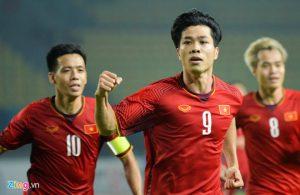 Tường thuật: Việt Nam 1-0 Bahrain (KT): Công Phượng tỏa sáng đưa Việt Nam vào tứ kết ASIAD 18