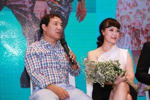 Vân Dung: 'Tôi phải nín nhịn để đóng cảnh tình cảm với Quang Thắng'