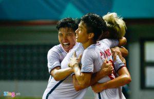 Kỳ tích: Olympic Việt Nam vào bán kết ASIAD 2018