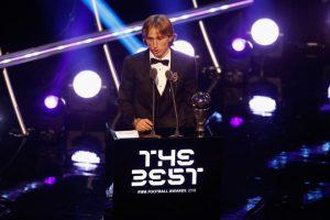Modric vượt mặt Ronaldo, Salah giành giải thưởng 'The Best'