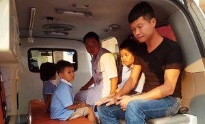 352 học sinh tiểu học ngộ độc có thể do ruốc thịt gà