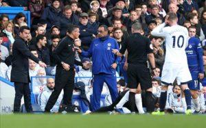 HLV Everton giải trình vụ ẩu đả với Maurizio Sarri