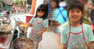 Cảm động cô bé 9 tuổi nhà nghèo đi bán gà rán, dùng đôi vai nhỏ bé 'gánh vác' cả gia đình