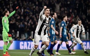 Atletico gục ngã trước thiên tài Ronaldo