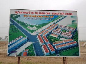 (TT. Chờ Yên Phong): Điểm nóng bất động sản của Bắc Ninh