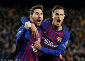 Kết quả Champions League: Barcelona loại M.U, Juventus thua sốc