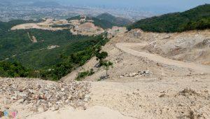"""""""Băm nát"""" núi Chín Khúc để xây dự án tâm linh, dựng tượng Phật cao 153 m"""