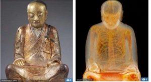 Giải mã tượng Phật 1.000 năm tuổi chứa xác ướp nhà sư chết trong thiền định