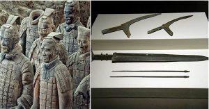 Sự thật choáng về thanh kiếm 'ma quái' trong mộ Tần Thủy Hoàng