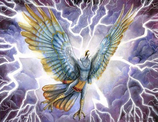 Lôi điểu - loài chim thần có khả năng hô sấm gọi sét